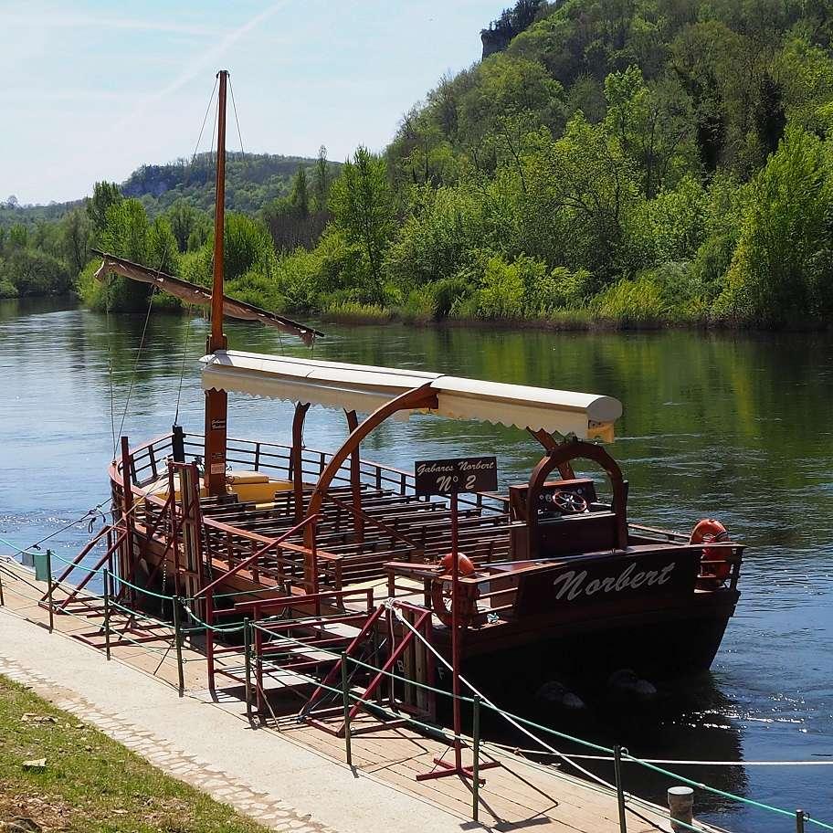 Les gabarres de la Dordogne. P4180034
