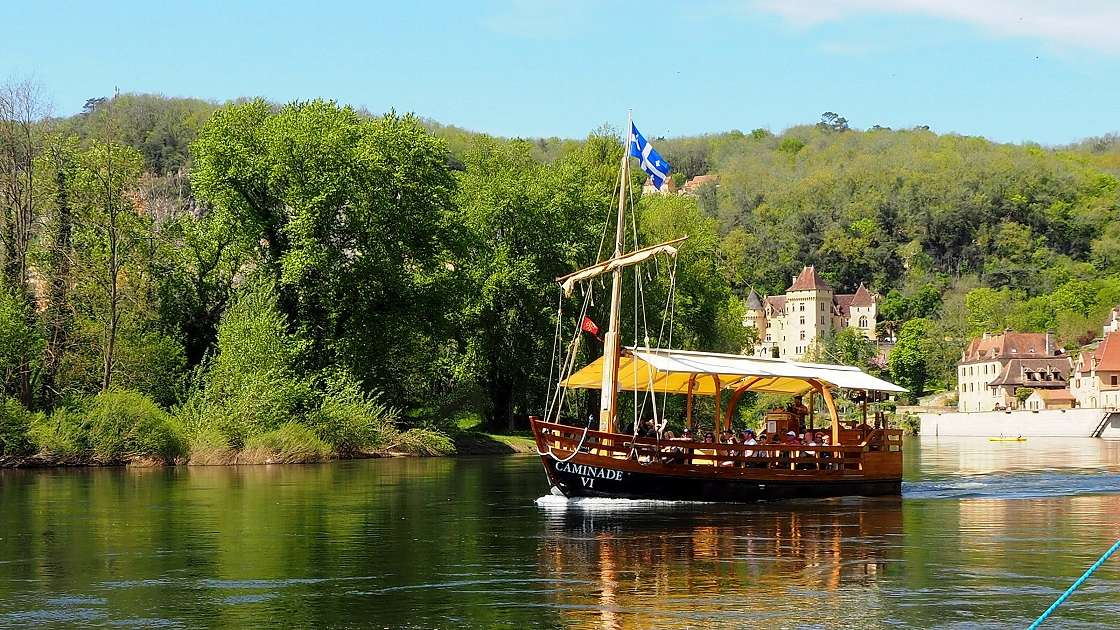Les gabarres de la Dordogne. P4180044
