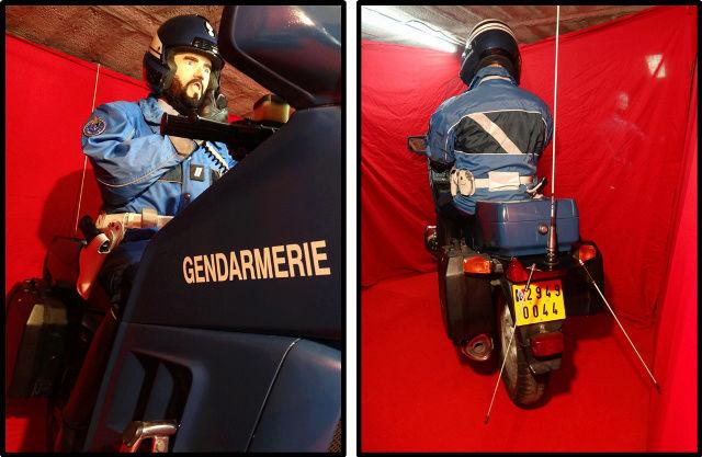 reconstitution motard Gendarmerie sur K75 Nouvel10
