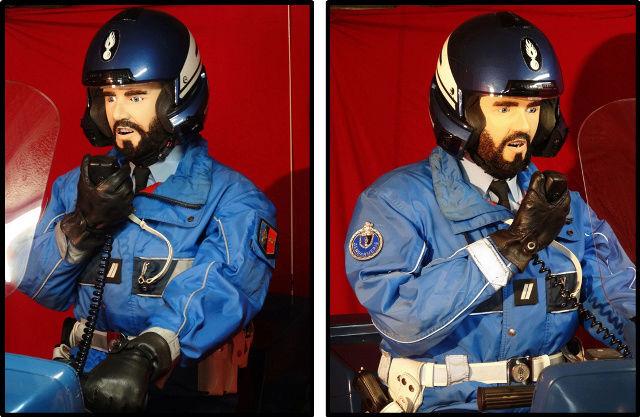 reconstitution motard Gendarmerie sur K75 Nouvel11