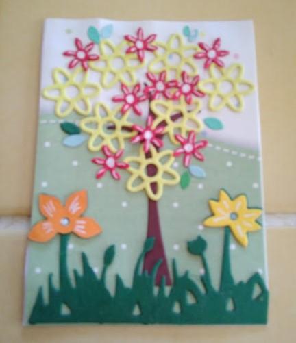 ATC juillet : arbre en fleur Mamouz10