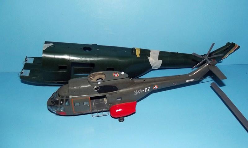 """SA 330 PUMA """"Hélicoptères BLUGEON"""" Revell 1/32 Dscf5818"""
