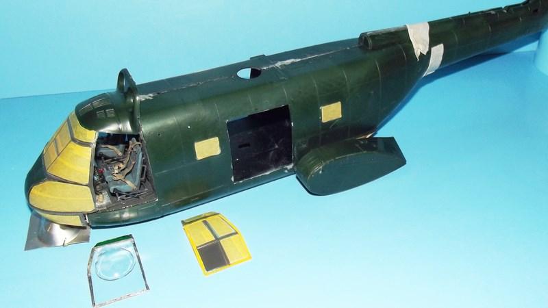 """SA 330 PUMA """"Hélicoptères BLUGEON"""" Revell 1/32 Dscf5911"""