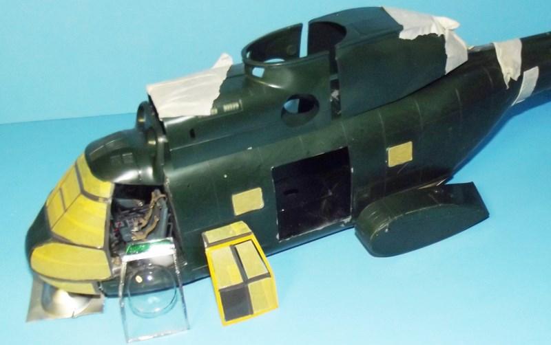 """SA 330 PUMA """"Hélicoptères BLUGEON"""" Revell 1/32 Dscf5912"""