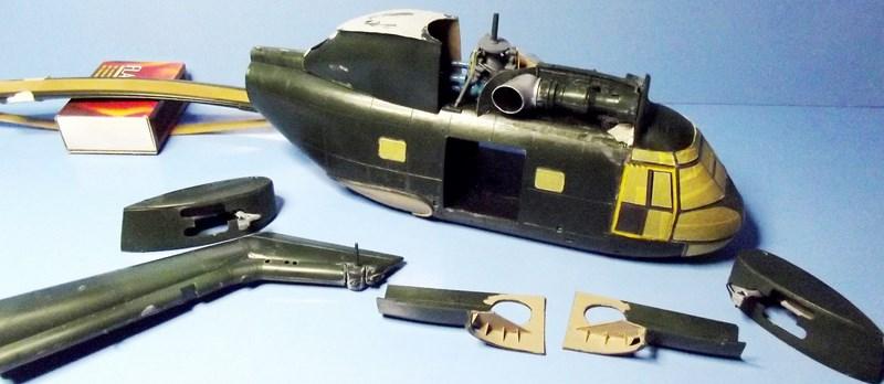 """SA 330 PUMA """"Hélicoptères BLUGEON"""" Revell 1/32 Dscf5922"""
