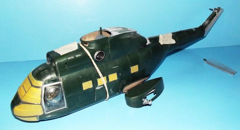 """SA 330 PUMA """"Hélicoptères BLUGEON"""" Revell 1/32 Dscf5926"""
