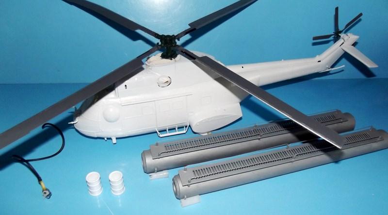 """SA 330 PUMA """"Hélicoptères BLUGEON"""" Revell 1/32 Dscf5933"""