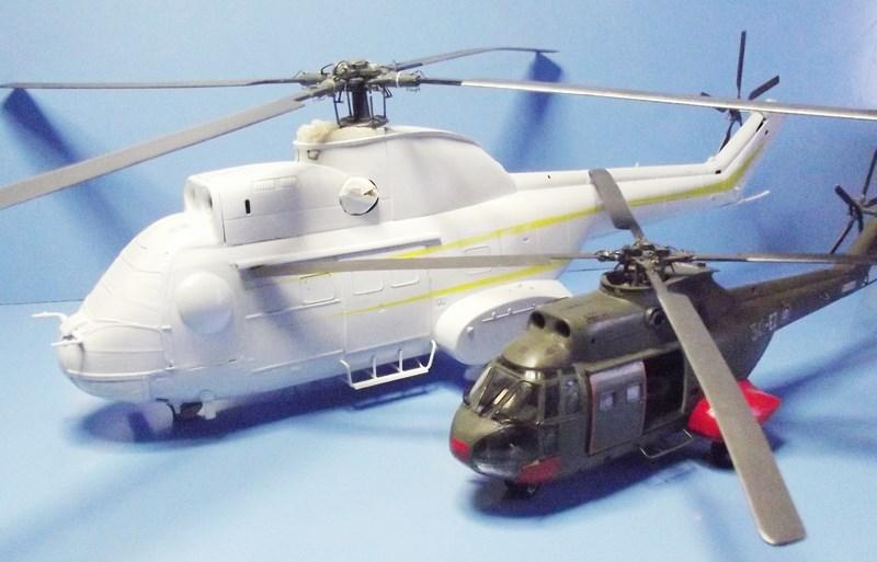 """SA 330 PUMA """"Hélicoptères BLUGEON"""" Revell 1/32 Dscf5950"""