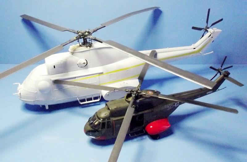 """SA 330 PUMA """"Hélicoptères BLUGEON"""" Revell 1/32 Dscf5951"""