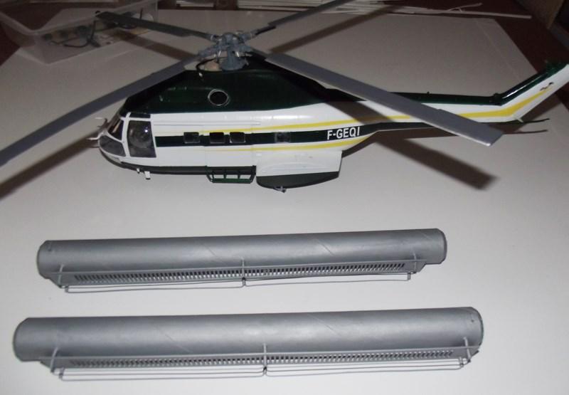 """SA 330 PUMA """"Hélicoptères BLUGEON"""" Revell 1/32 Dscf5953"""