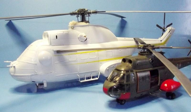 """SA 330 PUMA """"Hélicoptères BLUGEON"""" Revell 1/32 Dscf5954"""