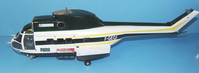 """SA 330 PUMA """"Hélicoptères BLUGEON"""" Revell 1/32 Dscf6010"""