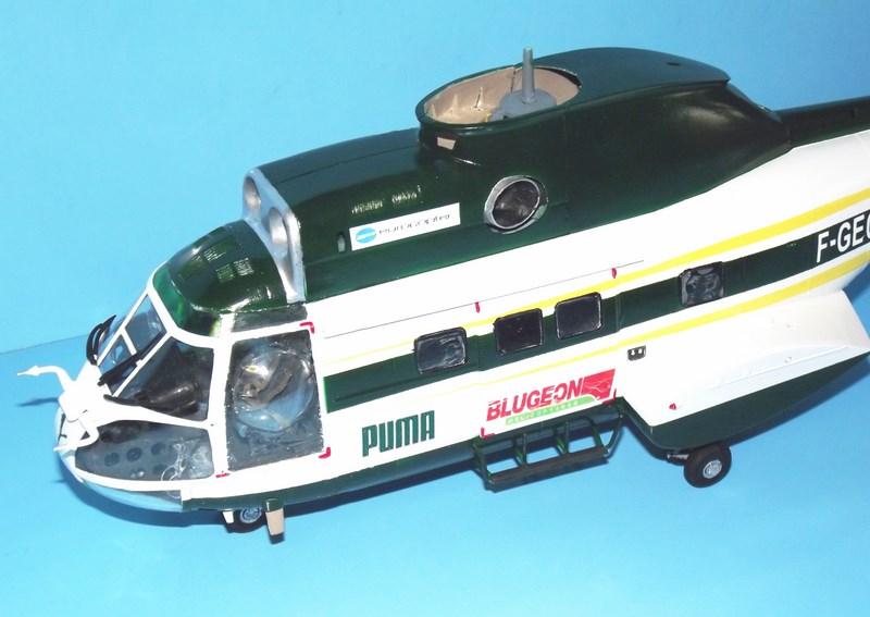 """SA 330 PUMA """"Hélicoptères BLUGEON"""" Revell 1/32 Dscf6012"""