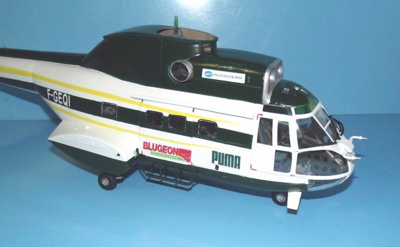 """SA 330 PUMA """"Hélicoptères BLUGEON"""" Revell 1/32 Dscf6013"""