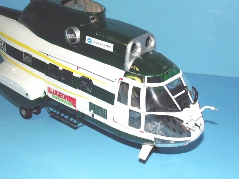 """SA 330 PUMA """"Hélicoptères BLUGEON"""" Revell 1/32 Dscf6014"""