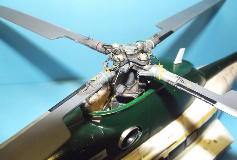 """SA 330 PUMA """"Hélicoptères BLUGEON"""" Revell 1/32 Dscf6017"""