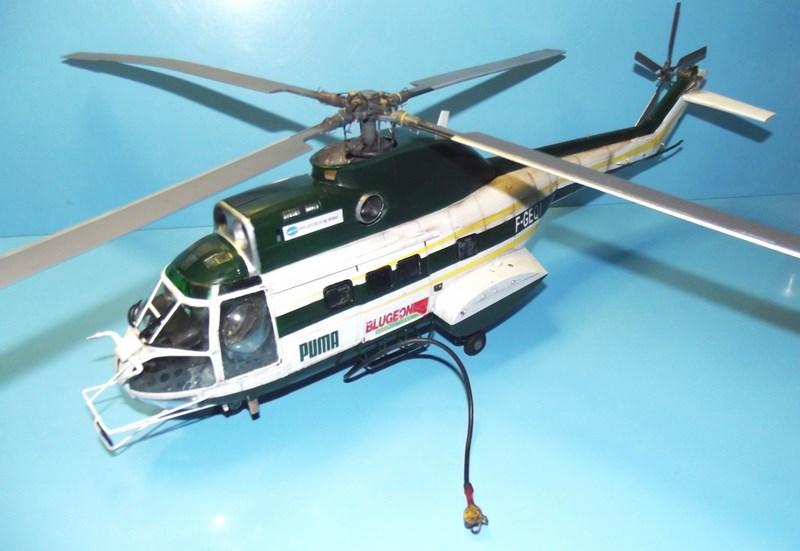 """SA 330 PUMA """"Hélicoptères BLUGEON"""" Revell 1/32 Dscf6019"""