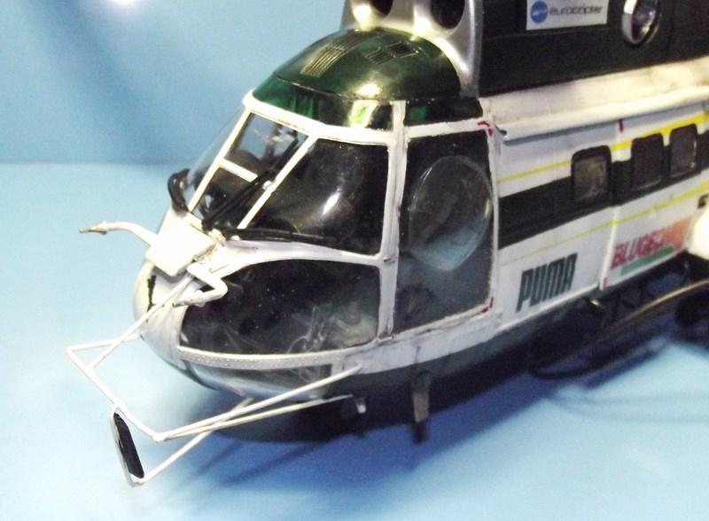 """SA 330 PUMA """"Hélicoptères BLUGEON"""" Revell 1/32 Dscf6020"""