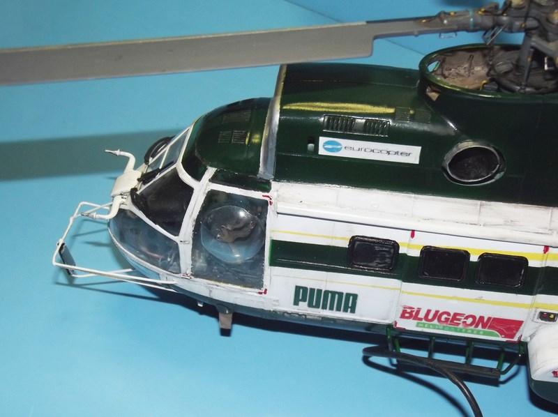 """SA 330 PUMA """"Hélicoptères BLUGEON"""" Revell 1/32 Dscf6023"""