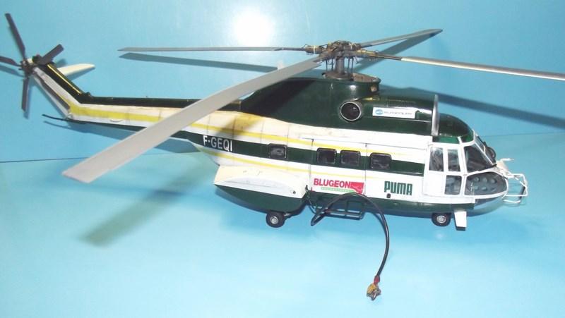 """SA 330 PUMA """"Hélicoptères BLUGEON"""" Revell 1/32 Dscf6024"""
