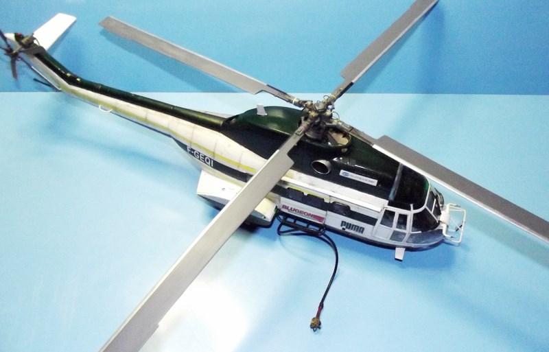 """SA 330 PUMA """"Hélicoptères BLUGEON"""" Revell 1/32 Dscf6026"""