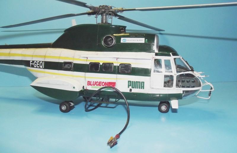 """SA 330 PUMA """"Hélicoptères BLUGEON"""" Revell 1/32 Dscf6027"""