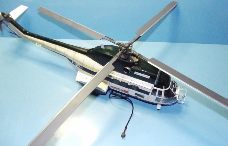 """SA 330 PUMA """"Hélicoptères BLUGEON"""" Revell 1/32 Dscf6028"""