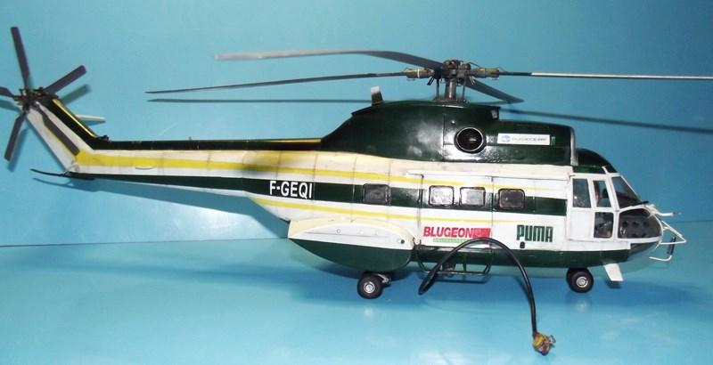 """SA 330 PUMA """"Hélicoptères BLUGEON"""" Revell 1/32 Dscf6030"""