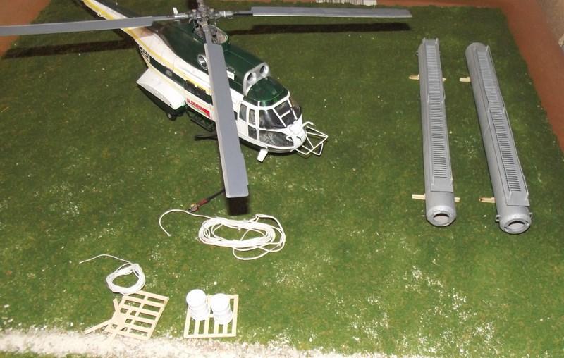 """SA 330 PUMA """"Hélicoptères BLUGEON"""" Revell 1/32 Dscf6031"""