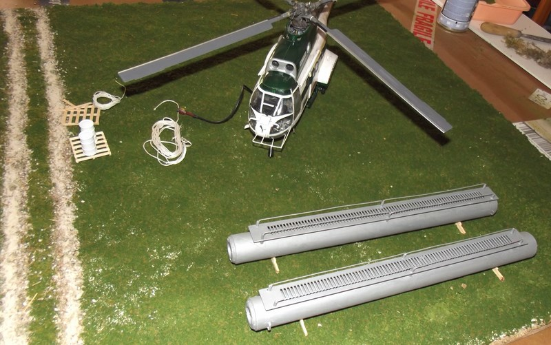 """SA 330 PUMA """"Hélicoptères BLUGEON"""" Revell 1/32 Dscf6032"""
