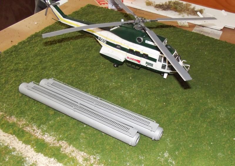 """SA 330 PUMA """"Hélicoptères BLUGEON"""" Revell 1/32 Dscf6033"""