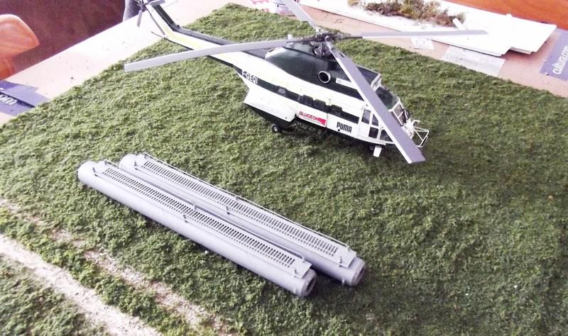 """SA 330 PUMA """"Hélicoptères BLUGEON"""" Revell 1/32 Dscf6034"""