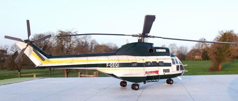 """SA 330 PUMA """"Hélicoptères BLUGEON"""" Revell 1/32 Dscf6036"""