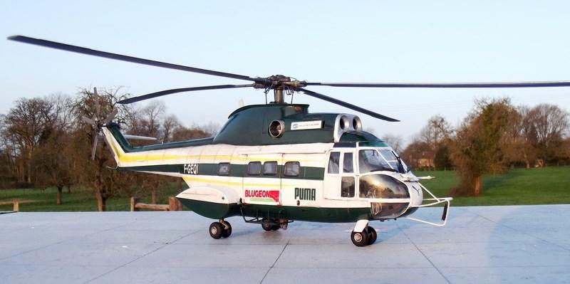 """SA 330 PUMA """"Hélicoptères BLUGEON"""" Revell 1/32 Dscf6038"""