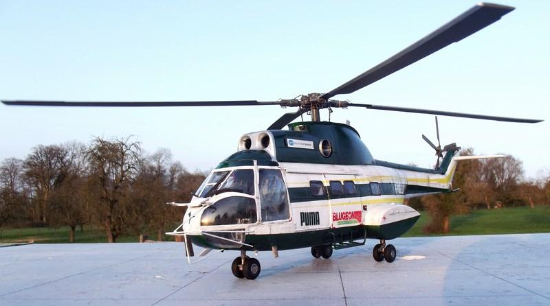 """SA 330 PUMA """"Hélicoptères BLUGEON"""" Revell 1/32 Dscf6040"""