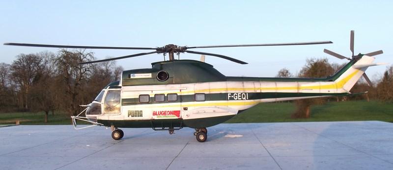 """SA 330 PUMA """"Hélicoptères BLUGEON"""" Revell 1/32 Dscf6041"""