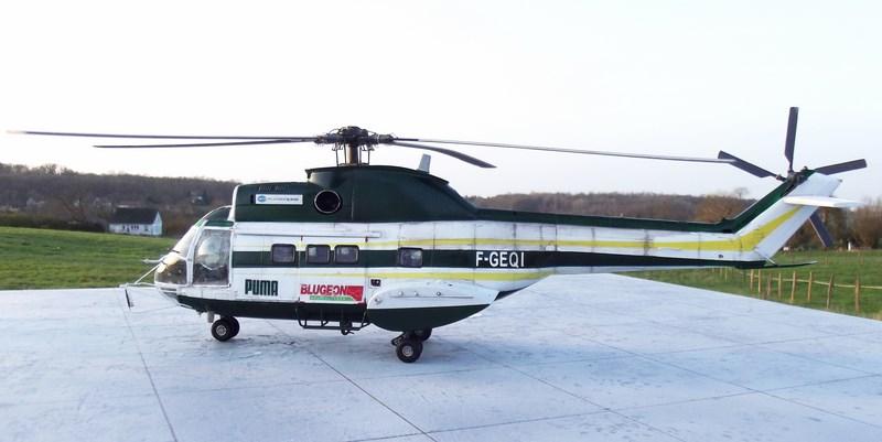 """SA 330 PUMA """"Hélicoptères BLUGEON"""" Revell 1/32 Dscf6043"""