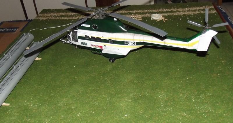 """SA 330 PUMA """"Hélicoptères BLUGEON"""" Revell 1/32 Dscf6045"""