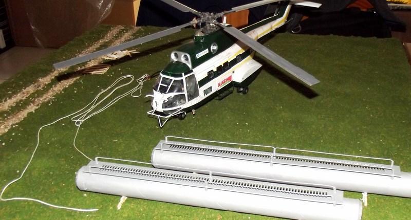 """SA 330 PUMA """"Hélicoptères BLUGEON"""" Revell 1/32 Dscf6046"""