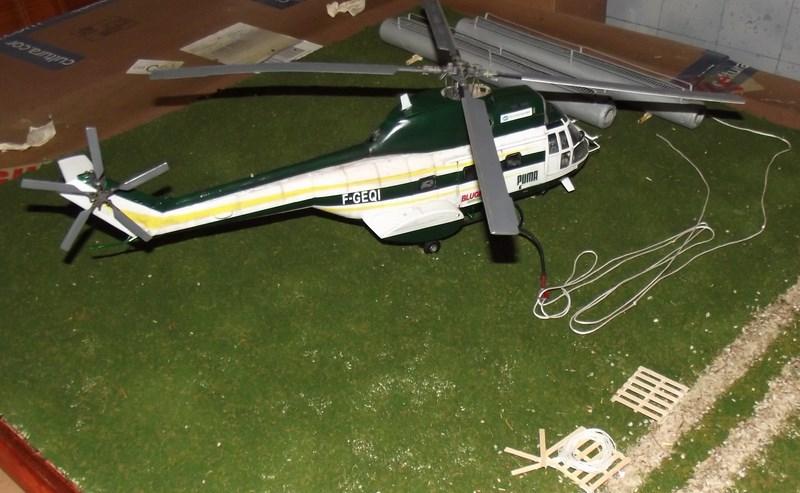 """SA 330 PUMA """"Hélicoptères BLUGEON"""" Revell 1/32 Dscf6049"""