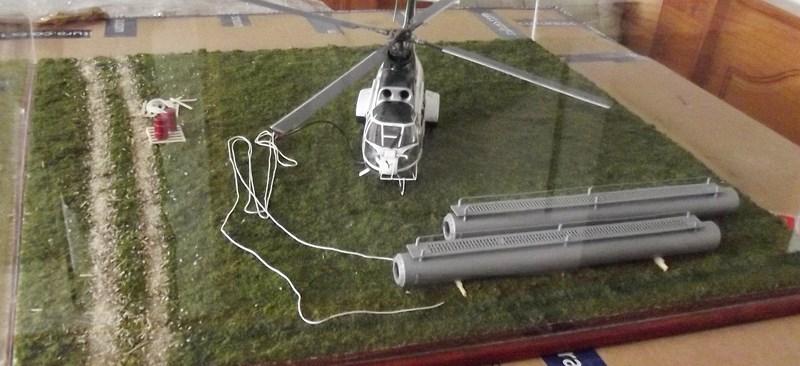 """SA 330 PUMA """"Hélicoptères BLUGEON"""" Revell 1/32 Dscf6052"""