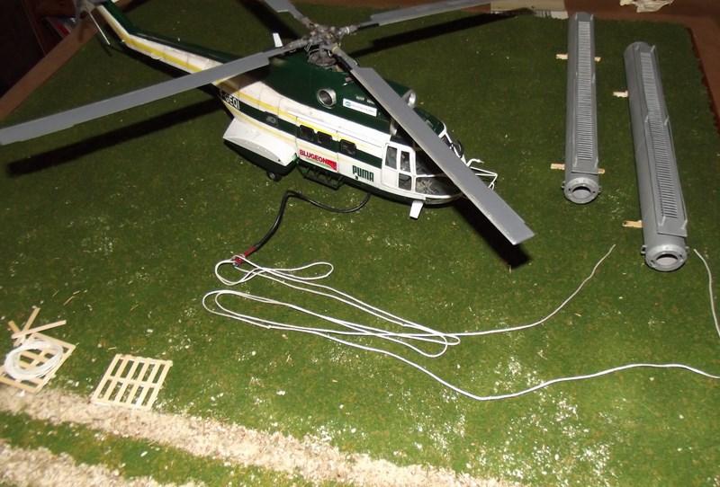 """SA 330 PUMA """"Hélicoptères BLUGEON"""" Revell 1/32 Dscf6054"""