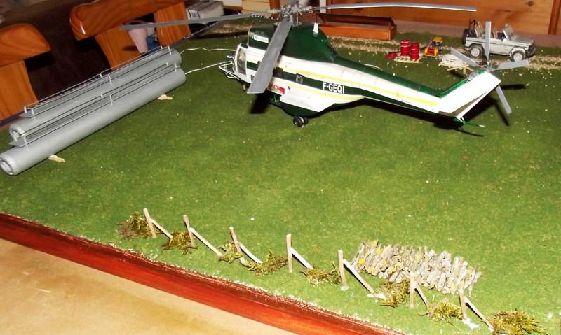 """SA 330 PUMA """"Hélicoptères BLUGEON"""" Revell 1/32 Dscf6310"""