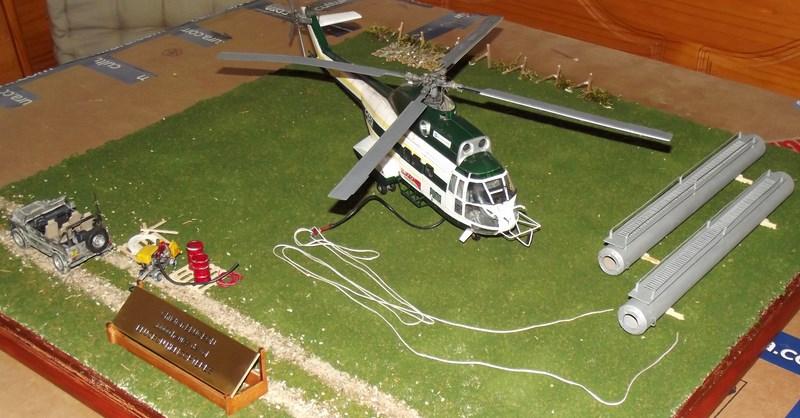 """SA 330 PUMA """"Hélicoptères BLUGEON"""" Revell 1/32 Dscf6311"""