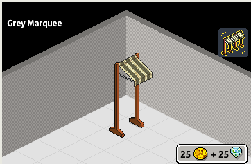 [ALL] Raro Padiglione Grigio in Catalogo ora su Habbo! Scree236