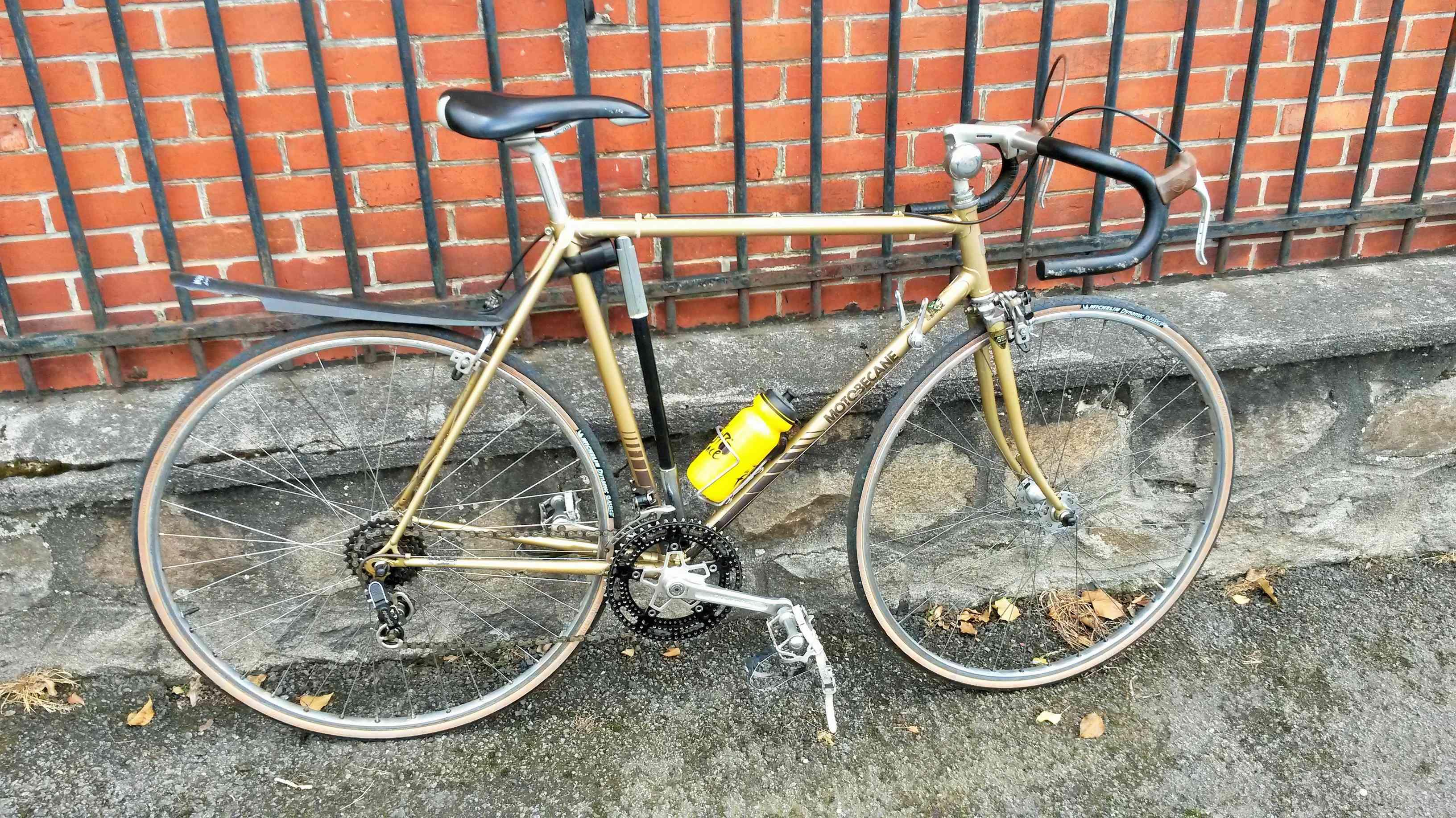 Motobécane C4 11 tubes Reynolds 531, champagne février 1978  00618