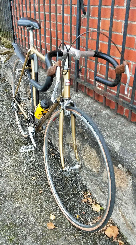 Motobécane C4 11 tubes Reynolds 531, champagne février 1978  00721