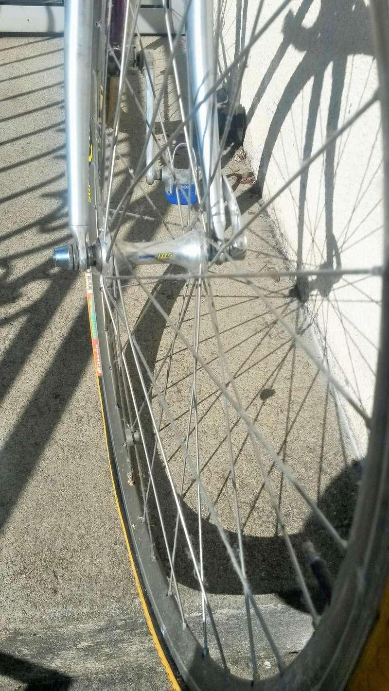 Vélo de course VITUS 787 FUTURAL DURAL - MARCEL JOURDE  1987-90  01115