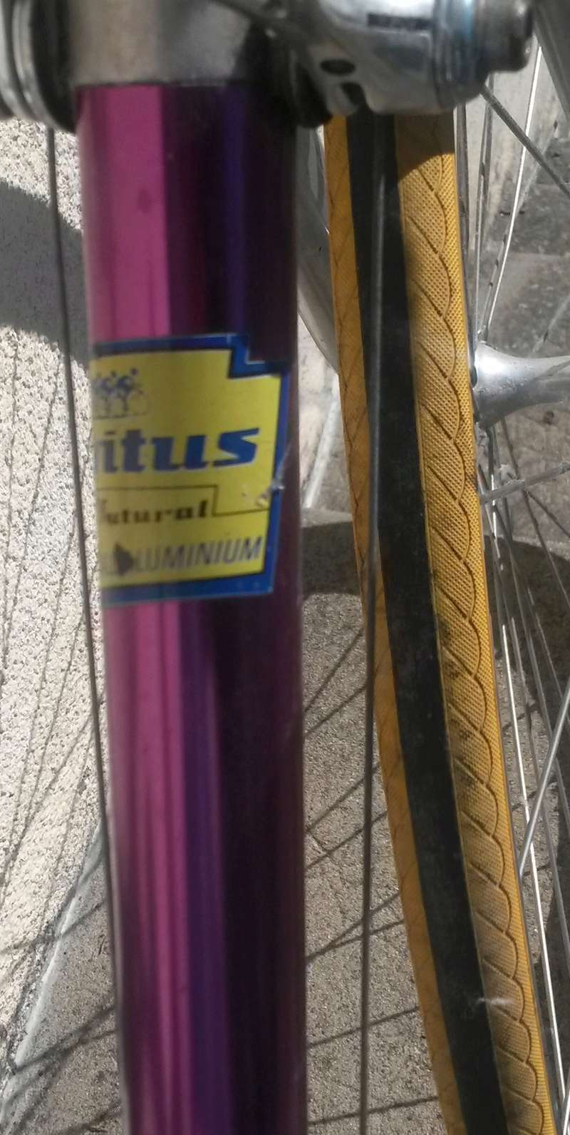 Vélo de course VITUS 787 FUTURAL DURAL - MARCEL JOURDE  1987-90  01611