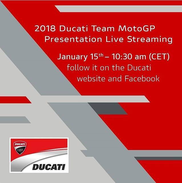 Présentation du Team Ducati MotoGP 2018 26814410